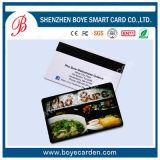 Cartão da impressão Offset de Cmyk do cartão da listra magnética