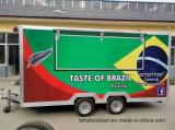 판매 음식 손수레를 위한 이동할 수 있는 음식 손수레 트레일러