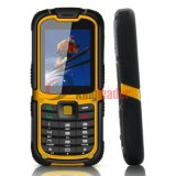 3G WCDMA Rugged Waterproof Mobilephone mit Cer (W26C)