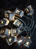 De LEIDENE Lichten van het Koord met het Verschillende Huis van de Dekking