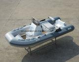 Aqualand 13pieds 4m Bateau de pêche gonflable rigide/Rib Bateau à moteur/Rescue (RIB400)