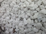 Pietra bianca come la neve cinese calda del ciottolo del fiume
