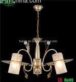 Классицистический привесной светильник с стеклом мозаики