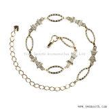 Rhinestone Crystal талии Hip металлические Цепи приводные ремни украшения одежды аксессуары