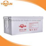 AGM van de diep-Cyclus van Yinsun 12V 200ah de Navulbare Lead-Acid Batterij van de Macht van het Gel