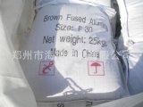 Brown a protégé par fusible l'alumine utilisée pour souffler, meulage, polissant