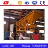 El concreto agregado de los compartimientos Pl800 3 pesa la máquina de procesamiento por lotes por lotes en Indonesia
