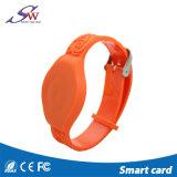 Bracelet bon marché de PVC d'IDENTIFICATION RF de proximité