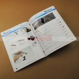 Печатание буклетов брошюр книг мягкой крышки печатание каталога инструмента