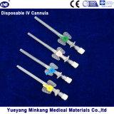 Cateter IV medicinal descartável (tipo borboleta) com porta de injeção
