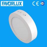 최신 판매 12W 둥근 표면에 의하여 거치되는 LED 위원회 빛