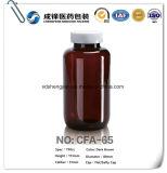Plastic Fles van de Capsule van de Tabletten van de Geneeskunde van de Pil van het huisdier de Bruine Amber