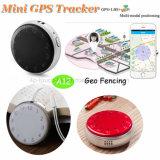 Спрятанные миниый отслежыватель GPS портативная пишущая машинка для ребенка/лично с Multiposition A12
