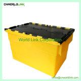 60kg de plástico padrão de armazenamento empilháveis sacola de transferência em movimento