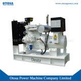 75kVA Groupe électrogène Deutz Super Silent ci-joint l'ensemble générateur avec la CE l'approbation de l'ISO