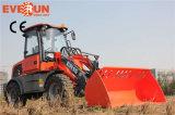 1.5 톤 Qingdao Everun 새로운 스위퍼를 가진 상태에 의하여 분명히 말하는 소형 바퀴 로더