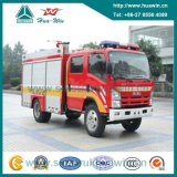 Isuzu 4X2 3.34cbm 189HP Mini Foam Fire Truck Euro IV Emission