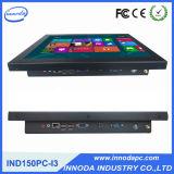 Touchscreen 15 '' PC Industrial Computer van alle-in-One met I3 Processor 500g HDD