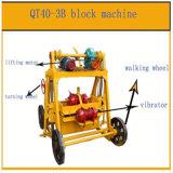 Piccolo blocchetto mobile manuale di Qt40-3b che fa macchina