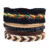 Nuovi braccialetti del cuoio del branello dell'ancoraggio degli accessori di modo