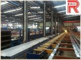 Surface du grain de bois aluminium/aluminium extrudé profil (Ra-098)