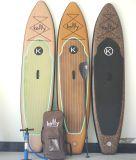 Woodgrainの軽量の膨脹可能販売のためのかい一口のボードを立てる