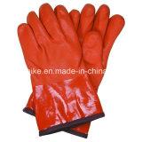 Цветная бумага с покрытием из ПВХ защитные перчатки рабочие перчатки
