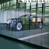 Visor LED transparente com parte superior de qualidade europeia P10