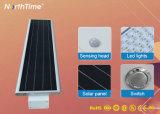 Lâmpada de Rua Solar Luz 50W&o controle do tempo tudo-em-um Luzes solares
