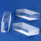 50X25mm, 15mm de espessura do corpo da guia de luz de cristal de safira Safira Bloco Guia de luz