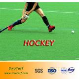 High-density и ровная поверхностная искусственная трава, синтетическая дерновина, поддельный лужайка для шарика хоккея, гольфа и строба