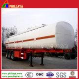 半40tons化学液体鋼鉄タンク車35tonsの硫酸タンクトレーラー