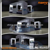 Cabina libre de la visualización de la exposición de la feria profesional del diseño