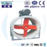 OIN 9001 de Yuton délivrent un certificat le ventilateur d'aération axial de Plasitc de laboratoire