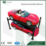고품질 4 포스트 자동 주차 상승 차고 장비