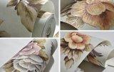 3D花の壁のカバーか壁紙