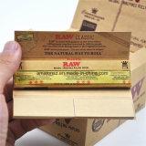 110mm 32 hojas de papel de rodadura de Raw del cáñamo sabor sabor a tabaco de papel de malezas con pantalla de verificación