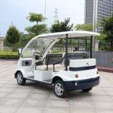 Minibus elettrico di fabbrica del CE di prezzi delle sedi approvate del commercio all'ingrosso 4 da vendere (DN-4)