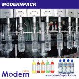 Agua / Leche / Botella de plástico de vinagre de frutas llenado de la máquina de embalaje