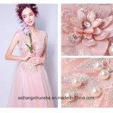 Reizvolles Spitze-Blumen-Brautkleid-formales Hochzeits-Kleid