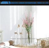 Frasco Reto-Tomado o partido simples do vidro da decoração do vaso da planta da tabela