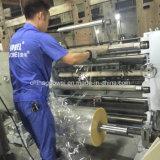 El corte de alta velocidad de la máquina de rebobinar