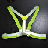 Tipo ajustável veste reflexiva elástica da extensão para a segurança