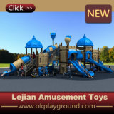 Campo da giuoco di plastica fantastico del banco di divertimento dei bambini (X1506-3)