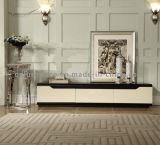 Soporte de madera simple de la TV del estilo