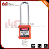Safety Loto Equipment 76 mm Long Steel Shackle Pad Lock