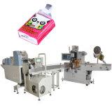 Bolsa de plástico recuento automático pañuelo de papel de la máquina de embalaje