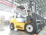 La forcella di Forklifter LGP della benzina alza il carrello elevatore 3tons con la bombola per gas