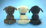 20cm Soft Peluche Dog Toy 3 Asst.
