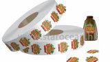 Kundenspezifische PVC/Pet/Art Papierbierflasche-Aufkleber